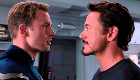 Cap and Tony