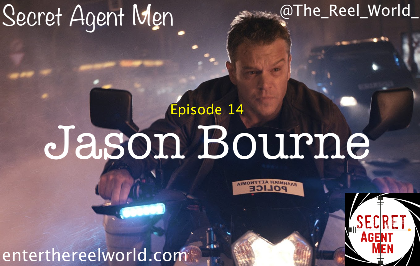 14) Jason Bourne