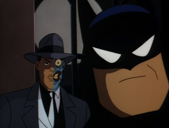 Batman and Harvey